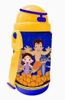 Chhota Bheem Opaque Series 480 Ml Water Bottle (Set Of 1, Blue)