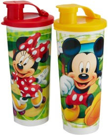 Tupperware Disney Tumblers 350 ml Water Bottles