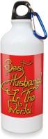 Sky Trends Gift Best Husband In The World White Sipper Bottle 600 Ml Water Bottle (Set Of 1, White)
