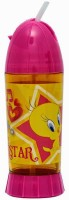 Warner Bros Opaque Series 200 Ml Water Bottle (Set Of 1, Pink)