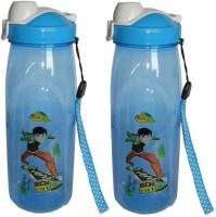 Infinxt Ben 10 500 Ml Water Bottles (Set Of 2, Blue)