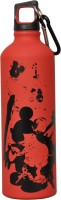 Disney Mickey Mouse 750 Ml Water Bottle (Set Of 1, Red)