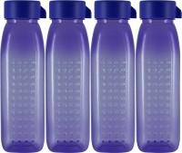 G-PET G-PET 500 Ml Water Bottles (Set Of 4, Purple)