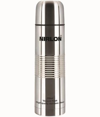 NIRLON Stainless Steel Vaccumn Flask 1000 Ml Water Bottle (Set Of 1, Silver)
