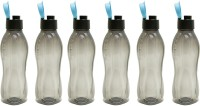 Tupperware Aquasafe 750 Ml Water Bottles (Set Of 6, Black)