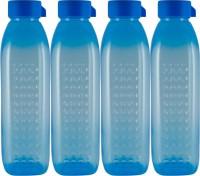G-PET G-PET 1000 Ml Water Bottles (Set Of 4, Blue)
