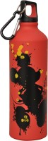 Disney Mickey Mouse 750 Ml Water Bottle (Set Of 1, Red, Yellow)