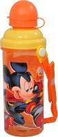 Disney Mickey Mouse 500 Ml Water Bottle (Set Of 1, Orange, Yellow)