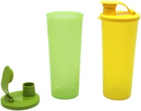 Tupperware Jumbo Tumbler 470 Ml Water Bottles (Set Of 2, Yellow, Green)
