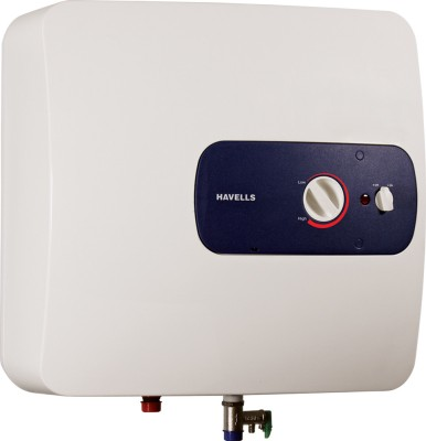 Havells Bello 15 L Storage Water Geyser White, Blue