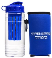 Suzies Picks 591 Ml Water Purifier Bottle (Blue)