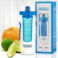 Bonké 946 Ml Water Purifier Bottle (Blue)