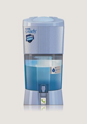 Tata Swach Silver Boost Aqua 27 L Gravity Based Water Purifier (Blue)