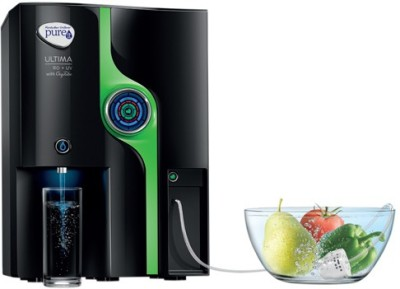 HINDUSTAN UNILIVER LIMITED Ultima RO+UV OxyTube 8 L RO + UV Water Purifier (Black)