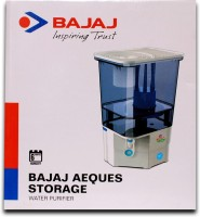 Bajaj Aeques Storage 23 L Gravity Based Water Purifier (Light Blue)