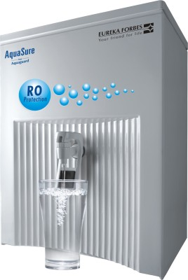 Eureka Forbes Aquasure Elegant RO+UV 6 L RO + UV Water Purifier (White)