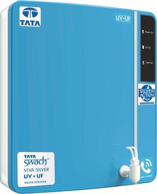 Tata Swach Viva Silver UV + UF 6 L UV + UF Water Purifier (Blue)