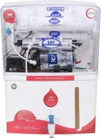 Say 6 Stage 12 L RO + UV Water Purifier (White, Red)