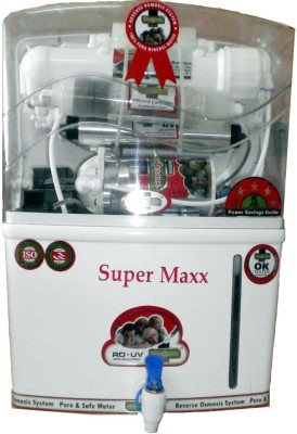Super Maxx Royal 12 Loitre RO + UV +UF Water Purifier