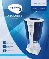 Hindustan Unilever Pureit Advanced 1500 L Gravity Based Water Purifier (White)