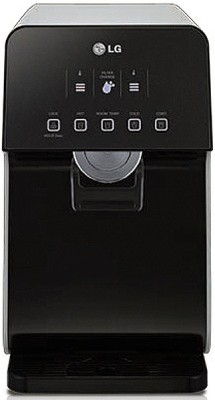 LG Water Purifier WHD71RB4RP (Instant Hot & Cold Water Purifier) 7.3 L RO Water Purifier (Black)