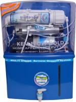Kem Flow Gold Aqua Grand 10 L RO + UV Water Purifier (Blue)