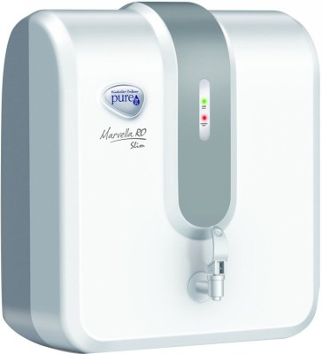 Pureit Marvella Slim RO 4 L RO Water Purifier (White & Grey)