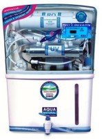 Aquafresh Grand Plus With Digital Tds Meter 10 L RO + UV +UF Water Purifier (White)
