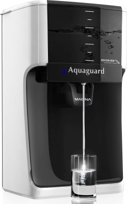 Aquaguard Magna HD RO + UV 7 L RO + UV Water Purifier (White, Black)