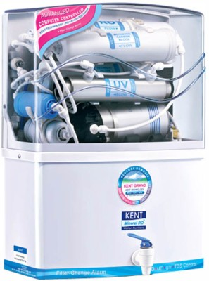 Kent Grand 8 L RO + UV Water Purifier (White)