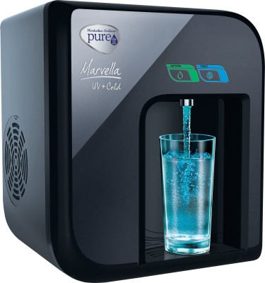 Pureit Marvella Cold 2.3 L UV Water Purifier (Black)