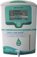 Kem Flow Gold Aqua Novo 10 L RO + UV Water Purifier (White, White, Green)