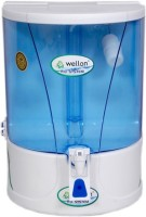 Wellon Credible Premium Uv+Uf+Mineral+Tds Controller 10 L RO Water Purifier (White)
