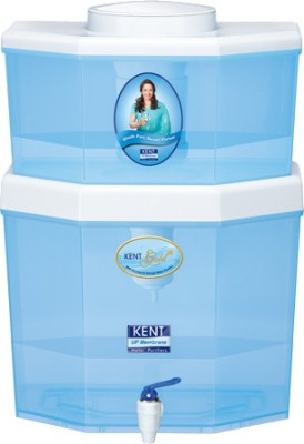 Kent Gold Star 22 L UF Water Purifier (White & Blue)