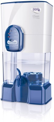 PUREIT Classic 5 L RO + UV Water Purifier (White)