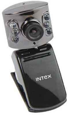 Intex Pc Webcam Night Vision 601k (It-306wc)  Webcam (Black)
