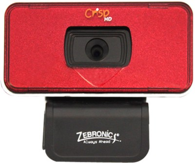 Zebronics Crisp HD Webcam (Red)