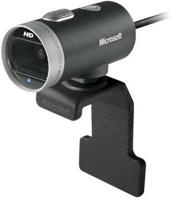 Microsoft LifeCam Cinema Webcam (Black & Silver)