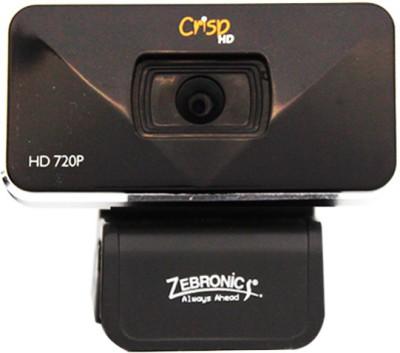 Zebronics Crisp HD Webcam (Black)