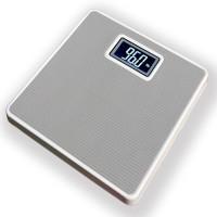 WhiteCherry Digital Personal Bathroom Health Body Weighing Scale (Grey)