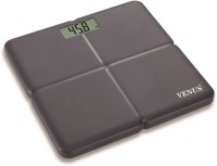 Venus Ultra Lite Electronic Digital Strong Plastic Body Personal Bathroom Health Body Fitness Weighing Scale (Black)