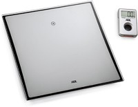A V WorldWays Ade Be 1307 Digital Weighing Scale (Silver)