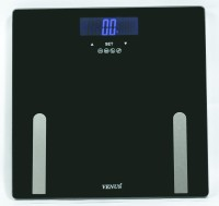 Venus Digital LCD Personal Bathroom Health Body Weight With Back Light Weighing Scale (Black)