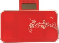 Emob Personal Health Portable Machine Weighing Scale (Red)