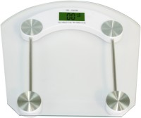 Lion Digital Square Glass Weighing Scale (Silver)
