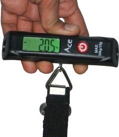 Ace Digital Luggage Travel Cylinder Raddi 50 Kg Weighing Scale
