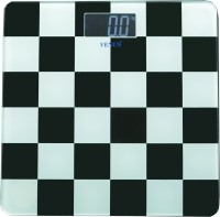 Venus Digital LCD Personal Bathroom Health Body Weight With Back Light Weighing Scale (Black, White)
