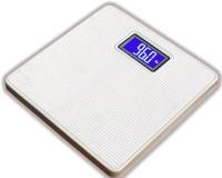 WhiteCherry Digital Personal Bathroom Health Body Weighing Scale (White)