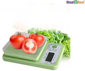 Stealodeal 10 kg x 1 gm Kitchen Multi-Purpose Weighing Scale