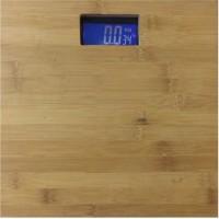 Virgo Wooden Digital Personal Bathroom Health Body Weighing Scale (Brown)